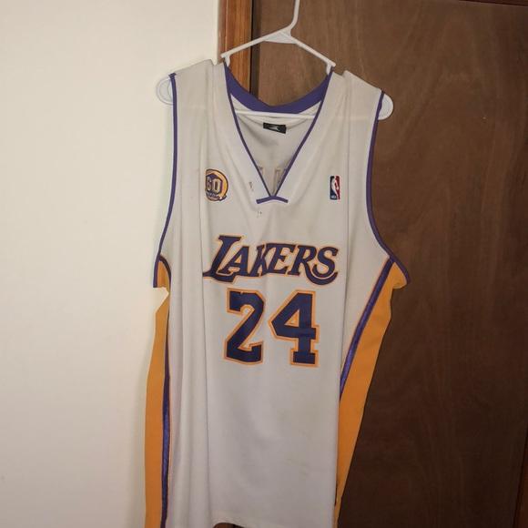 "online store 8ca6f 715d6 VINTAGE, ""60th Anniversary"" Kobe Bryant Jersey."
